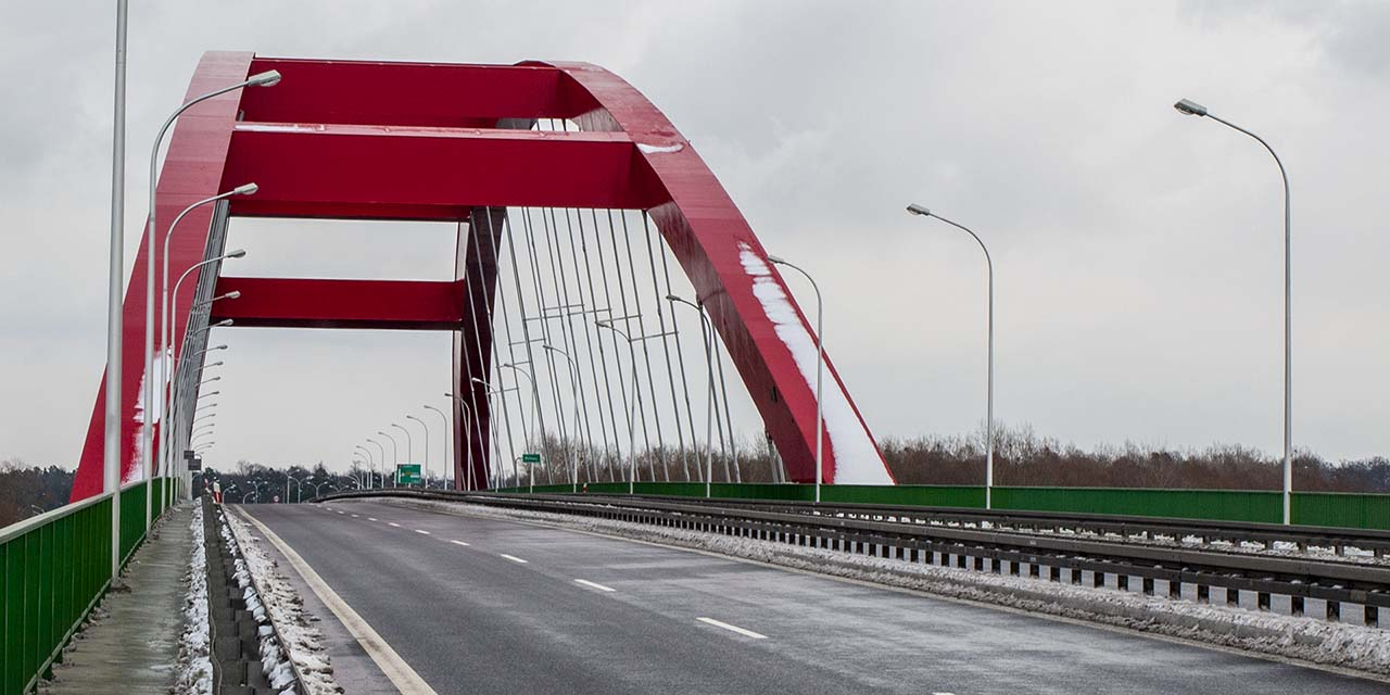 Most na Wiśle w Puławach