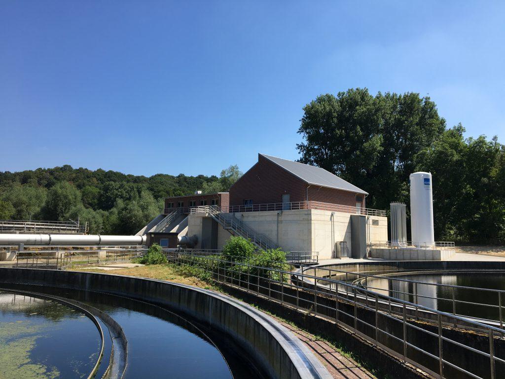 Fot. Oczyszczalnia na rzece Wurm, Niemcy