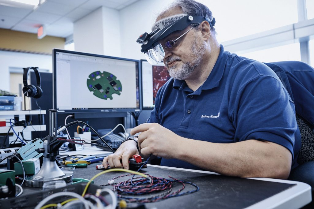 Fot. Innowacja jest silnym motorem wzrostu dla Endress+Hauser. W roku 2019 aż 7,6% przychodów ze sprzedaży zainwestowano w badania i rozwój.