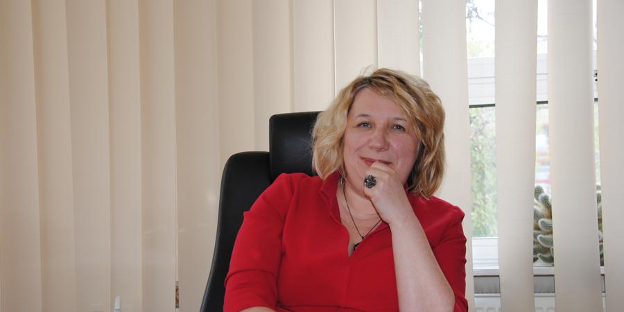 Prezes Wodociągów Białostockich Pani Beata Wiśniewska