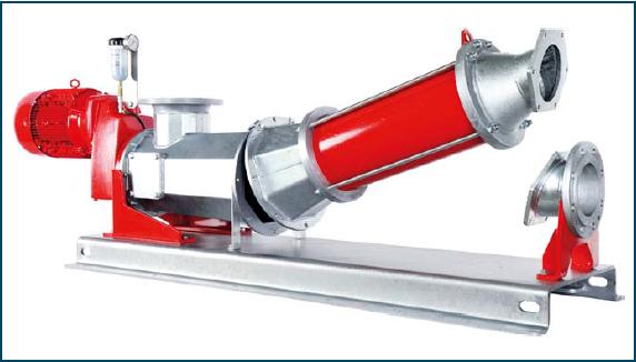 Rys. 1. Pompa śrubowa CC – szybkoserwisowa