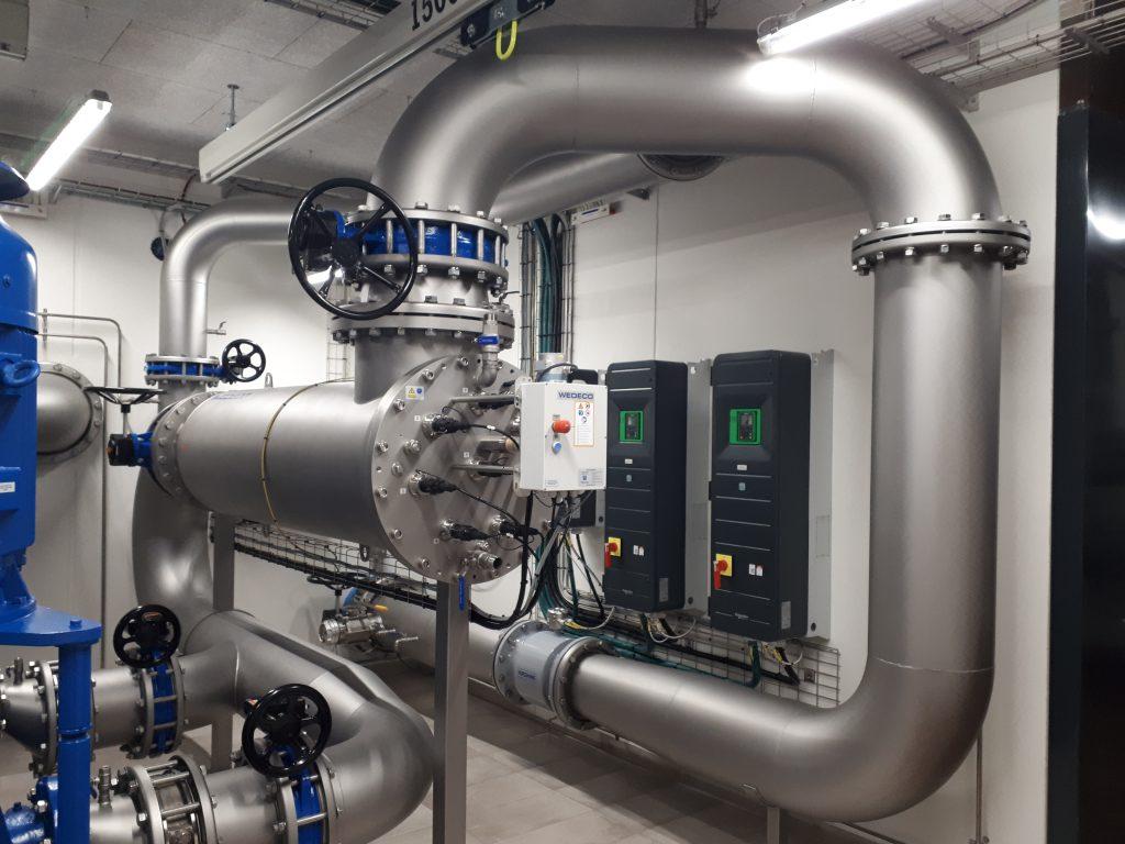 Fot. System Wedeco UV zastosowany przez duńskie wodociągi