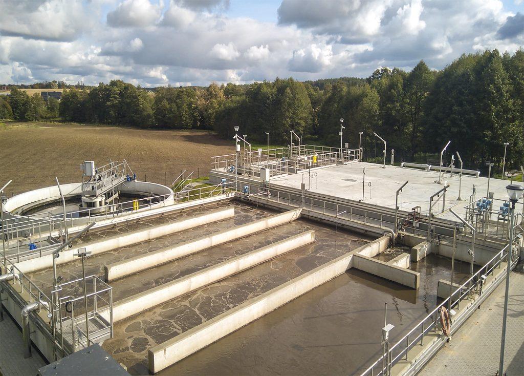 Fot. 2 Zmodernizowana oczyszczalnia ścieków w Skarszewach