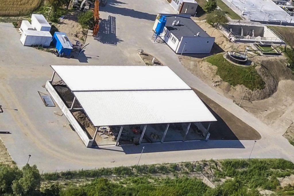 Fot. 4 Nowa hala magazynowa na ustabilizowany osad