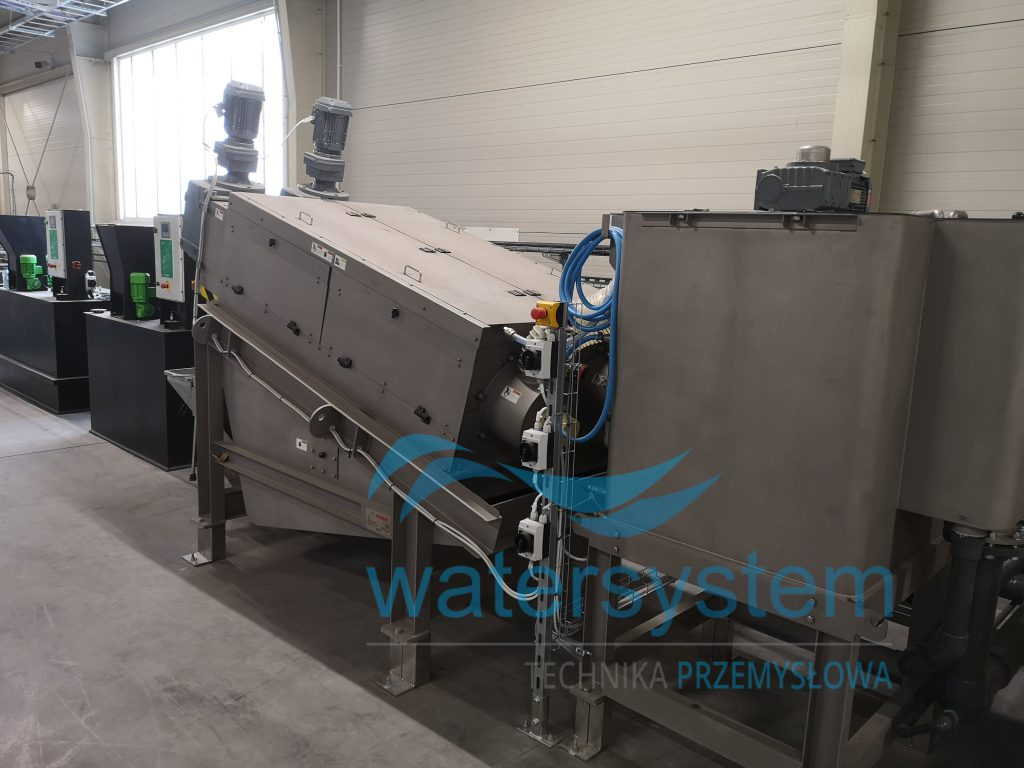 Fot. 4. Prasa Volute FS-352 w zakładzie recyclingu folii