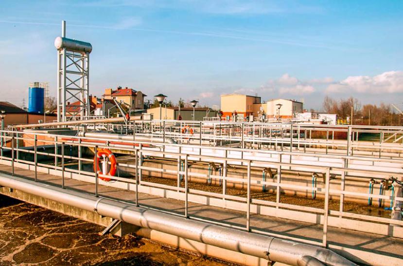 Rys. 3 Widok na reaktor biologiczny [źródło: eko-babice.pl]