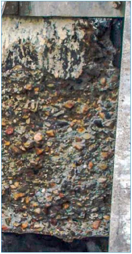 Rys. 3 Zmiany powierzchni przykrytego zbiornika predenitryfikacji w oczyszczalni ścieków w Poznaniu (Lewobrzeżna Oczyszczalni Ścieków) [9]