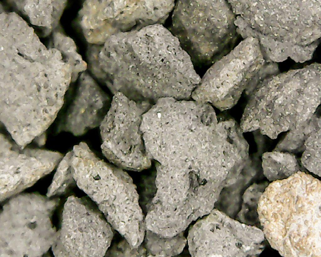 Fot. 1.Zdjęcie w powiększeniu złoża Filtralite Pure HC 0,8÷1,6 mm