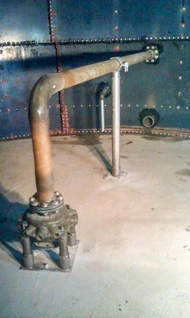 Fot. 8 Mieszadło eżektorowe odśrodkowe umieszczone w reaktorze porcjowym [12]
