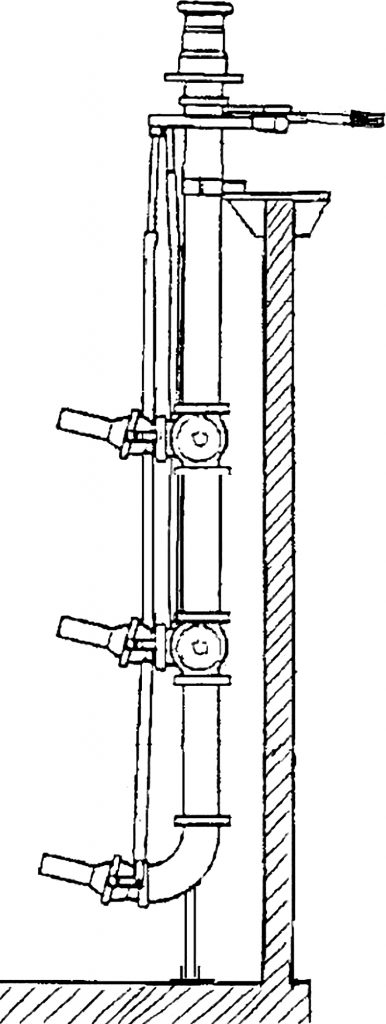 Rys. 12  Mieszadło eżektorowe z ruchomymi dyszami wylotowymi [8]