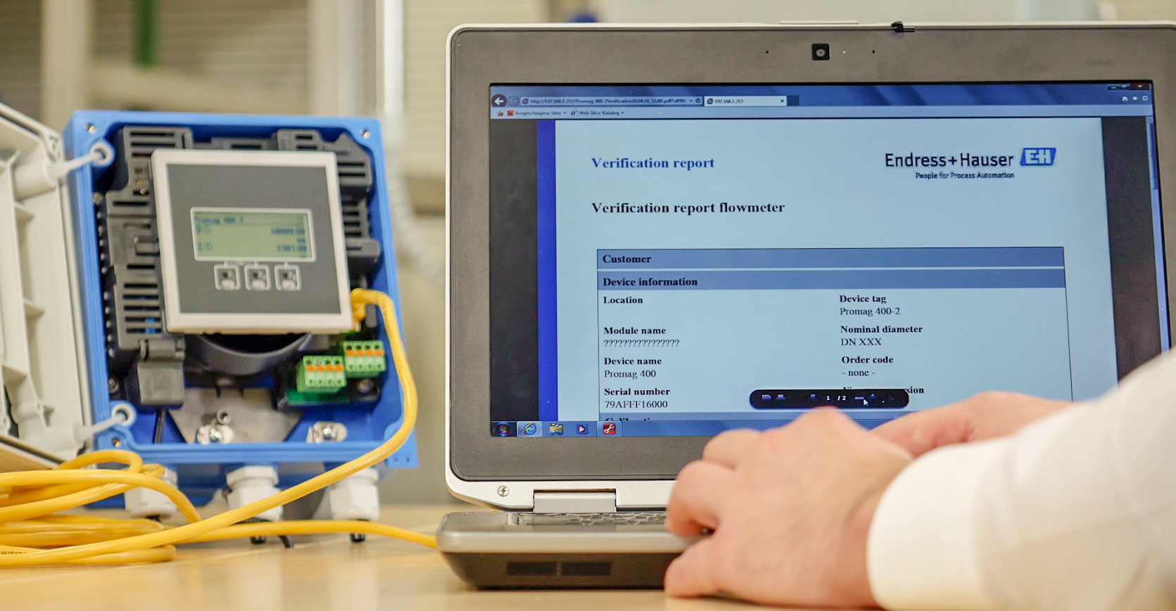 Fot. 2. Wysokie pokrycie diagnostyczne Heartbeat Technology pozwala na znaczne ograniczenie liczby tradycyjnych sprawdzeń i kalibracji przepływomierzy
