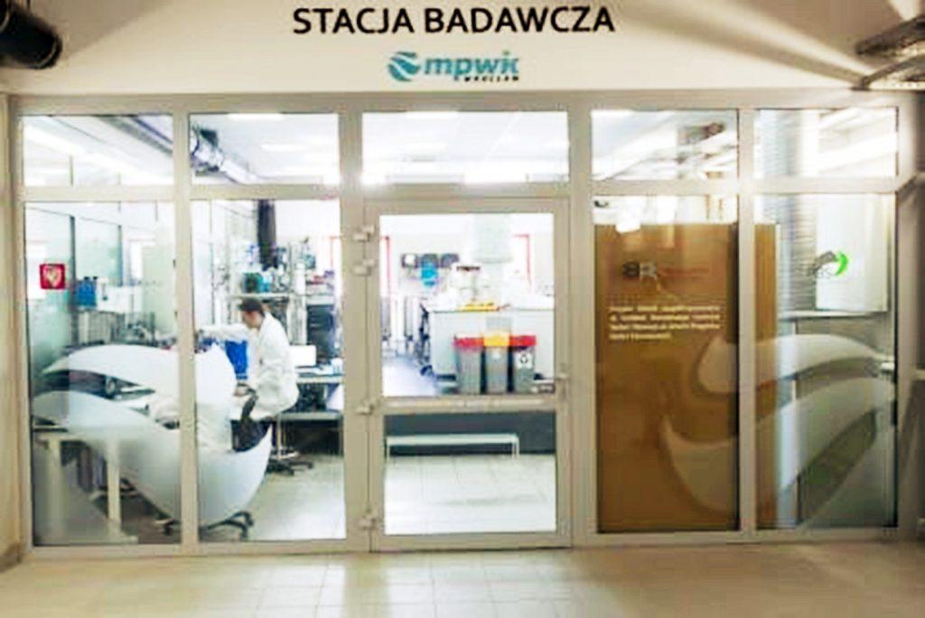 Rys. 1. Laboratoryjna część stacji badawczej