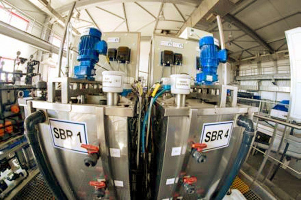 Rys. 3. Serce instalacji – dwa z czterech reaktorów procesowych