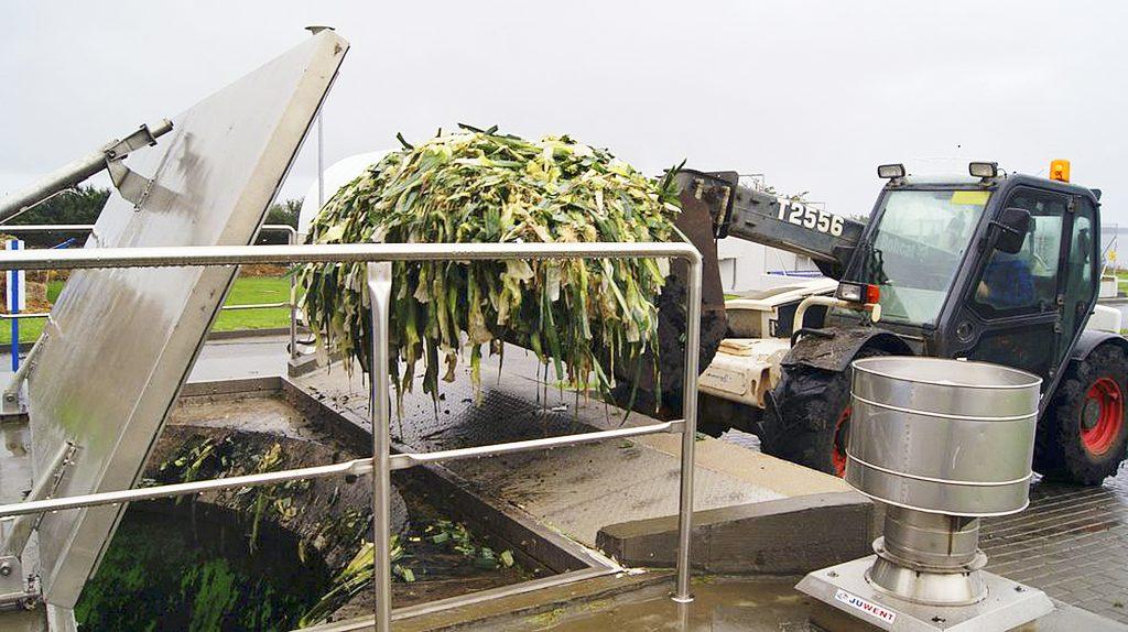Fot. 2. Oczyszczalnia ścieków w Swarzewie posiada wygodne i zhermetyzowane dwa punkty przyjęcia odpadów