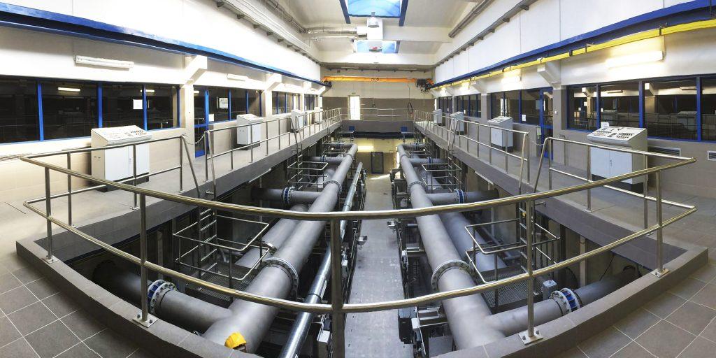 Rys. 2. Hala filtrów węglowych [www.ptbnickel.pl]