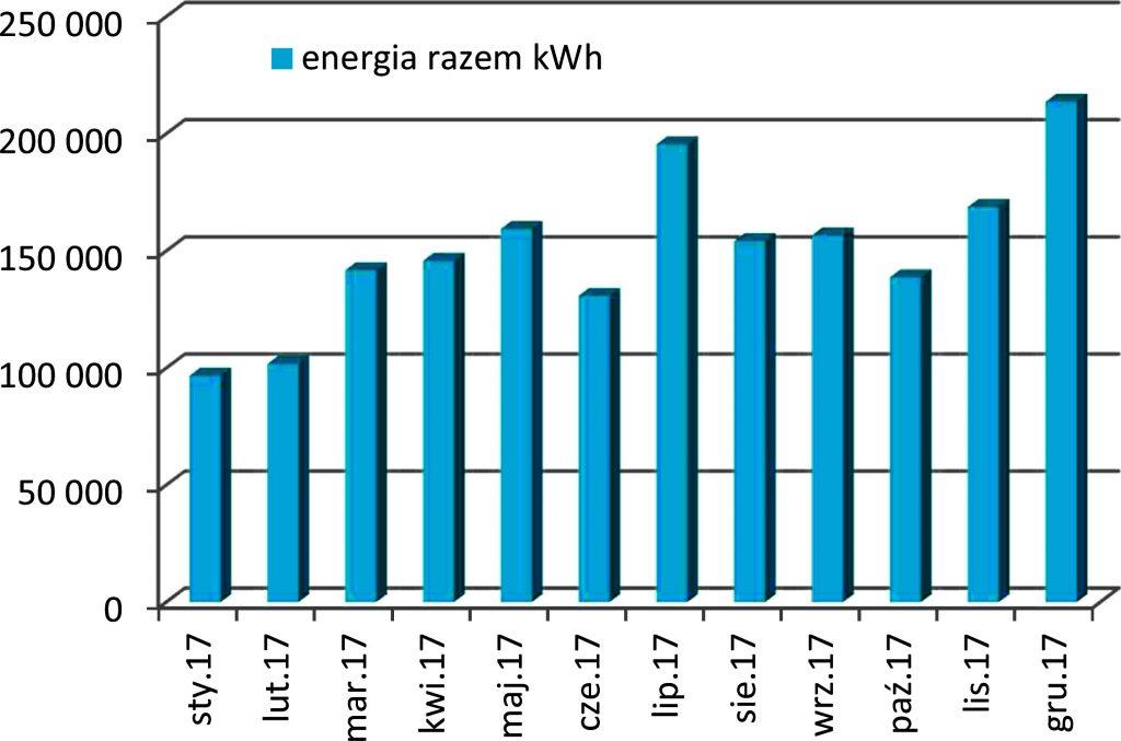 Rys. 4. Produkcja energii elektrycznej w 2017 roku