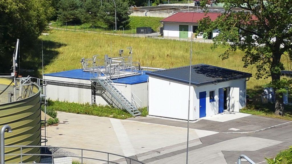 Rys. 2. Urządzenie TERRAMOX® w oczyszczalni ścieków w Schrobenhausen
