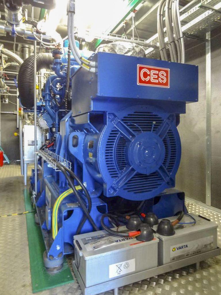3. Jednostka kogeneracyja o mocy P=400 kW el.